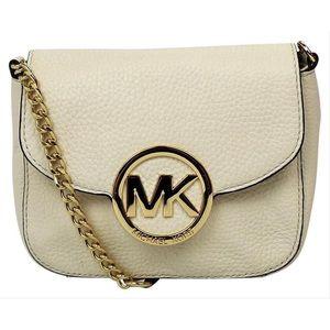 Michael Kors Fulton Small Leather Cross Body Bag